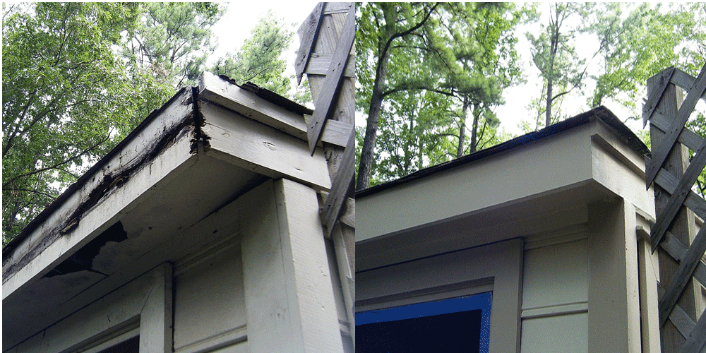 Need Wood Rot Repairs Amp Exterior Painting Call Earthly